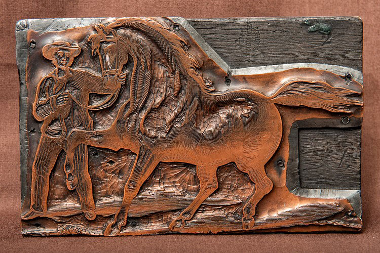 Horse Plate